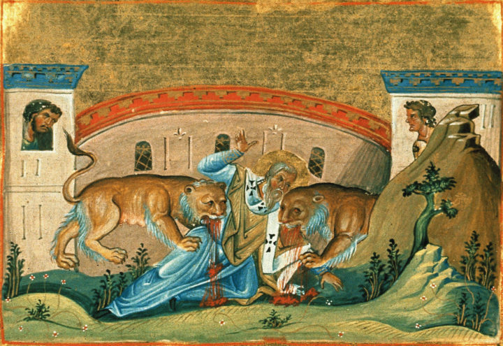Take heed, then, often to come together to give thanks to God, and show forth His praise. For when   you assemble frequently in the same place, the powers of Satan are destroyed, and the destruction at   which he aims is prevented by the unity of your faith. Ignatius of Antioch